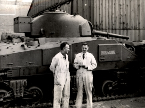 064404:Sherman Tank Vickers Armstrong Ltd Elswick Works Elswick Unknown c.1950