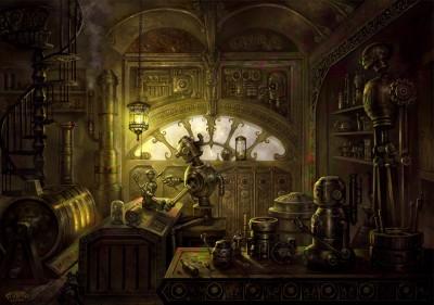 Image result for clockpunk art