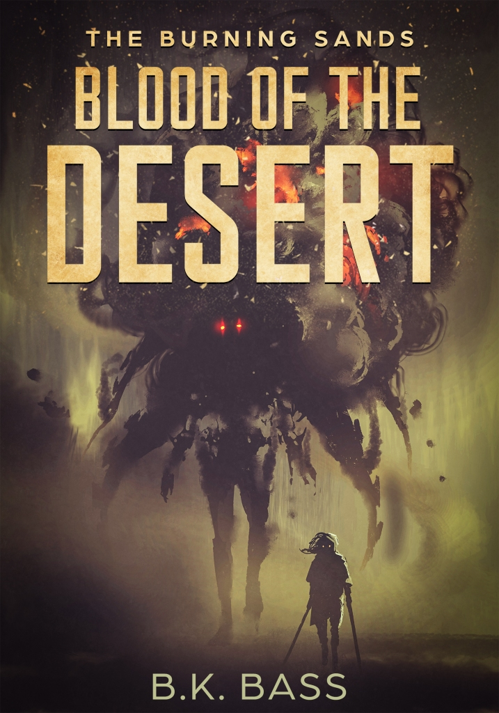 Blood of the Desert by B.K. Bass