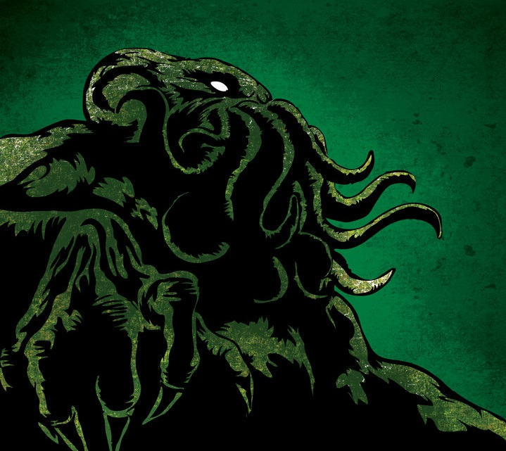 Cthulhu artwork by Danilo Neira.