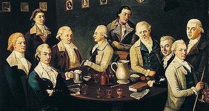 The Adelphi Club, Belfast (1783) by Joseph Wilson