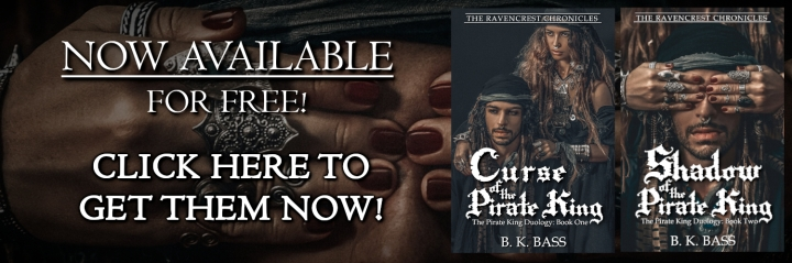 The Pirate King Duology by B.K. Bass Free eBooks! Click here to get them now!